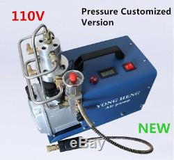 110V-130V Set Pressure 300bar 4500psi Air Pump High Pressure Air Compressor PCP