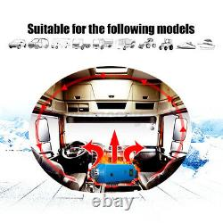 16PCS Set Upgrade 12V 8KW LCD Diesel Air Heater Thermostat Tank for Car Truck
