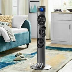 39 Oscillating Tower Fan WithRemote Control & Timer 3 Speed Settings Air Cooling