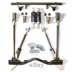 55-57 CHEVY TRI FIVE BEL AIR REAR 4 LINK KIT coilover set up rear suspension