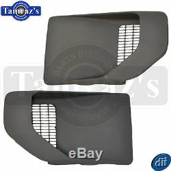 70-81 Trans Am Fender Air Extractor Side Louver Vent Scoop Set NEW
