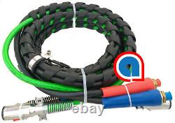 ABS 15ft 3-In-1 Air Hose and ABS Electrical Cable Set Ref 169157 451098