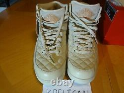 Air Jordan Retro 2 Just Don Beach Size 11.5 DS Pack Set WITH HAT RARE! DS