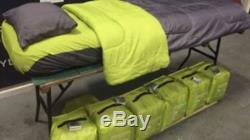 All In One Single Bed Set Indoor & Outdoor Camping Bed Air Bed Ready Bed NEW