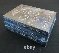 Cruel Prince Wicked King Queen of Nothing Folk of the Air Set Unread New B&N