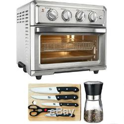 Cuisinart Convection Toaster Oven Air Fryer + Knife Set, Spice Mill & Board