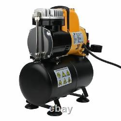 Dual Cool Fan Airbrush Set Air Tank Compressor System with 3L Air Tank