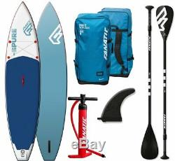 Fanatic Pure Air Touring inflatable SUP 11.6 Stand up Paddle Board Set Angebot
