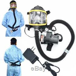 Full FaceMask Electric Constant Flow Supplied Air Fed Respirator System Sets