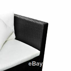 Garden Sofa Set Poly Rattan Outdoor Couch Lounge Inflatable Air Corner Sofa