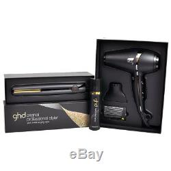 Ghd Dry & Style Gift Set Incs Mark IV Styler, Air Hairdryer & Heat Protect Spray