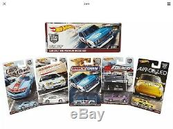 Hot Wheels RLC Set BRE Datsun Race-Day Modern-Classics Red-Liners Air-Cooled