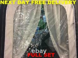 New Genuine Full Set Curtains For The Kampa Rally ACE 400 PRO Air Porch Awning