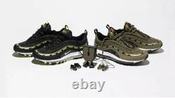 Nike X Undefeated Air Max 97 Set Size 9.5 Mens SHIPS SAME DAY