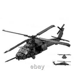 PaveHawk Helicopter MH-60G US Air Force Creator MOC Military Building Blocks Set