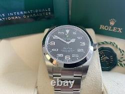 Rolex Air King 116900 New And Unworn May 2021 Complete Set