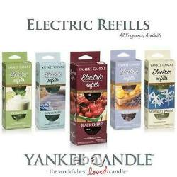 SET OF 2 Yankee Candle Electric Scent PlugIn Fragrance Oil Refills Air Freshener