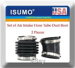 Set of 2 Air Intake Hose Tube Duct Boot for Infiniti M35 M45 2006-2009 V6 3.5L