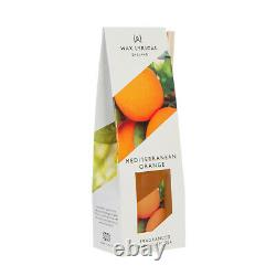 Set of 4 x 40ml Reed Diffusers by Wax Lyrical Orange Cherry Fig & Sea Breeze NEW
