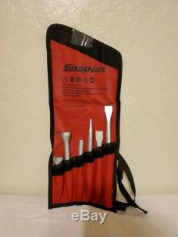 Snap On Tools 6 Piece Air Hammer Bit Set PHG1066BK. New Sealed in package