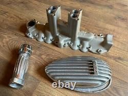 Thickstun Set Flathead Ford Mercury V8 Hot Rod Intake Breather Air Cover Cleaner