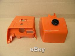 Top Cylinder Cover With New Air Filter Cover Set For Stihl Chainsaw 046 Ms460