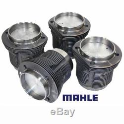 VW Air Cooled 1776cc Mahle Forged Pistons & Cylinders, 90.5MM x 69MM, Set Of 4